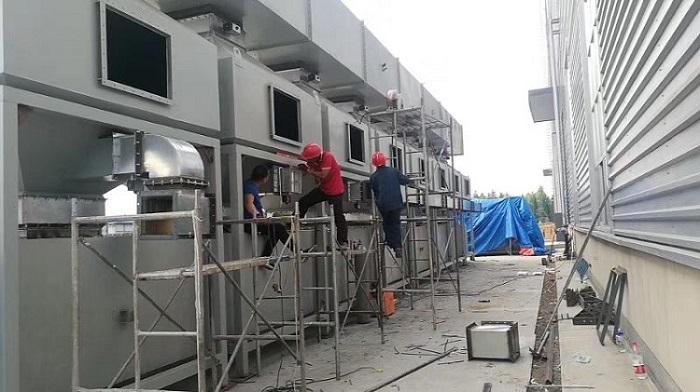 RCO催化燃烧废气净化装置