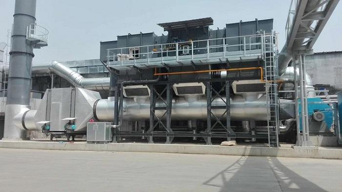 蓄热式有机废气催化燃烧装置