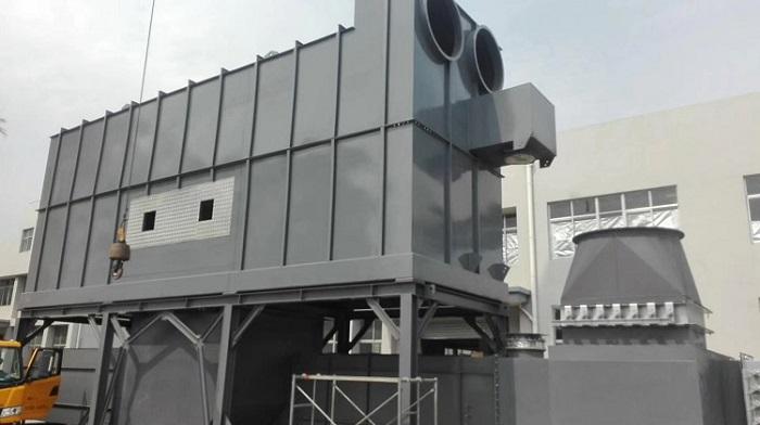 旋转型蓄热式催化燃烧设备