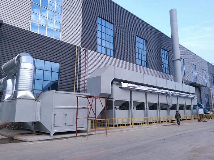 活性炭吸附催化净化装置