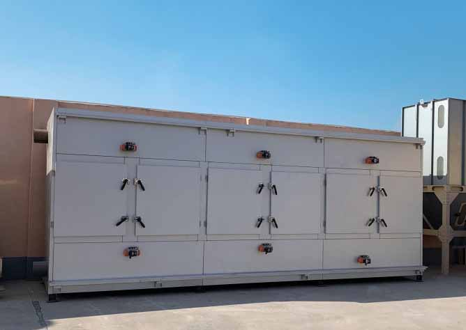 vocs催化燃烧环保设备