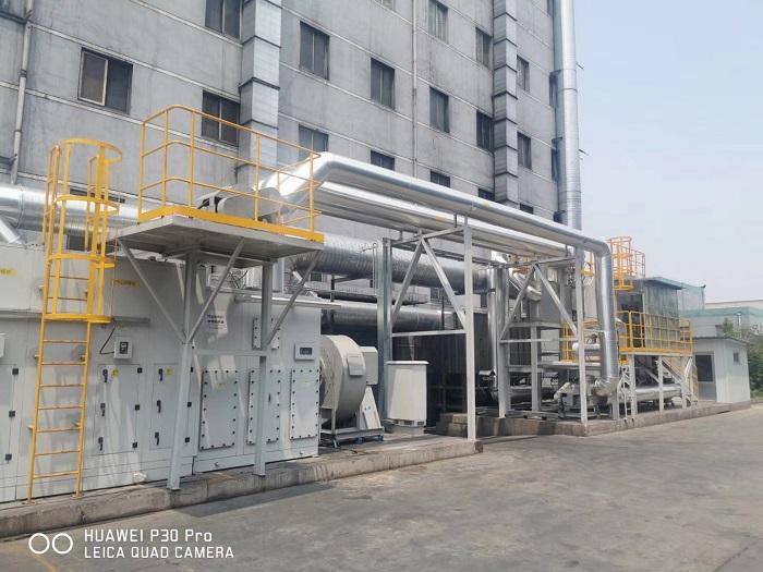 浙江橡胶废气转轮RTO工程